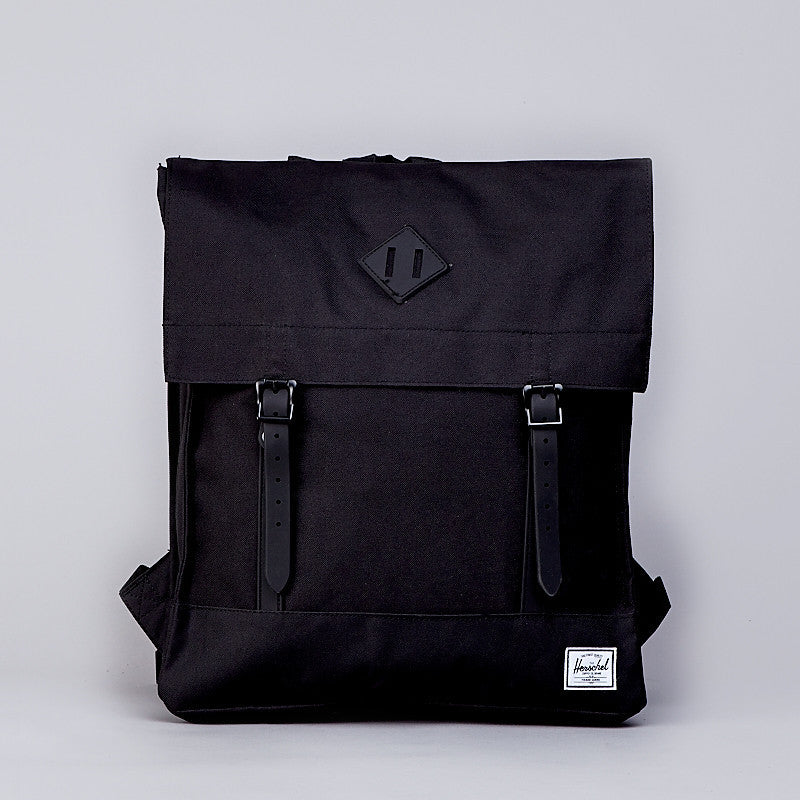 Herschel Survey Canvas Backpack Black Rubber