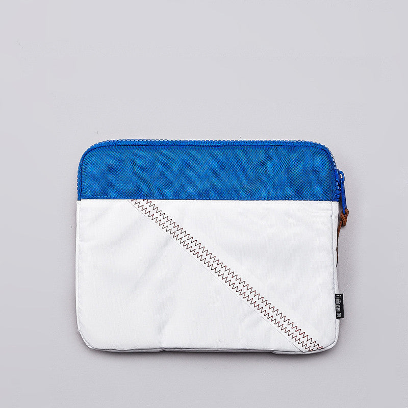 Herschel Anchor iPad Mini Sleeve White / Regatta Blue