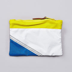Herschel Field Pouch White / Cardinal Yellow / Regatta Blue