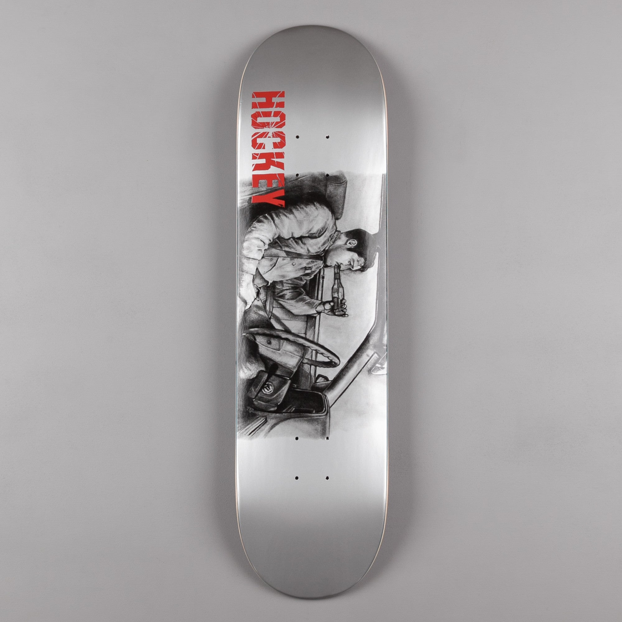 Hockey Andrew Allen Deck - Metallic Silver - 8.25""