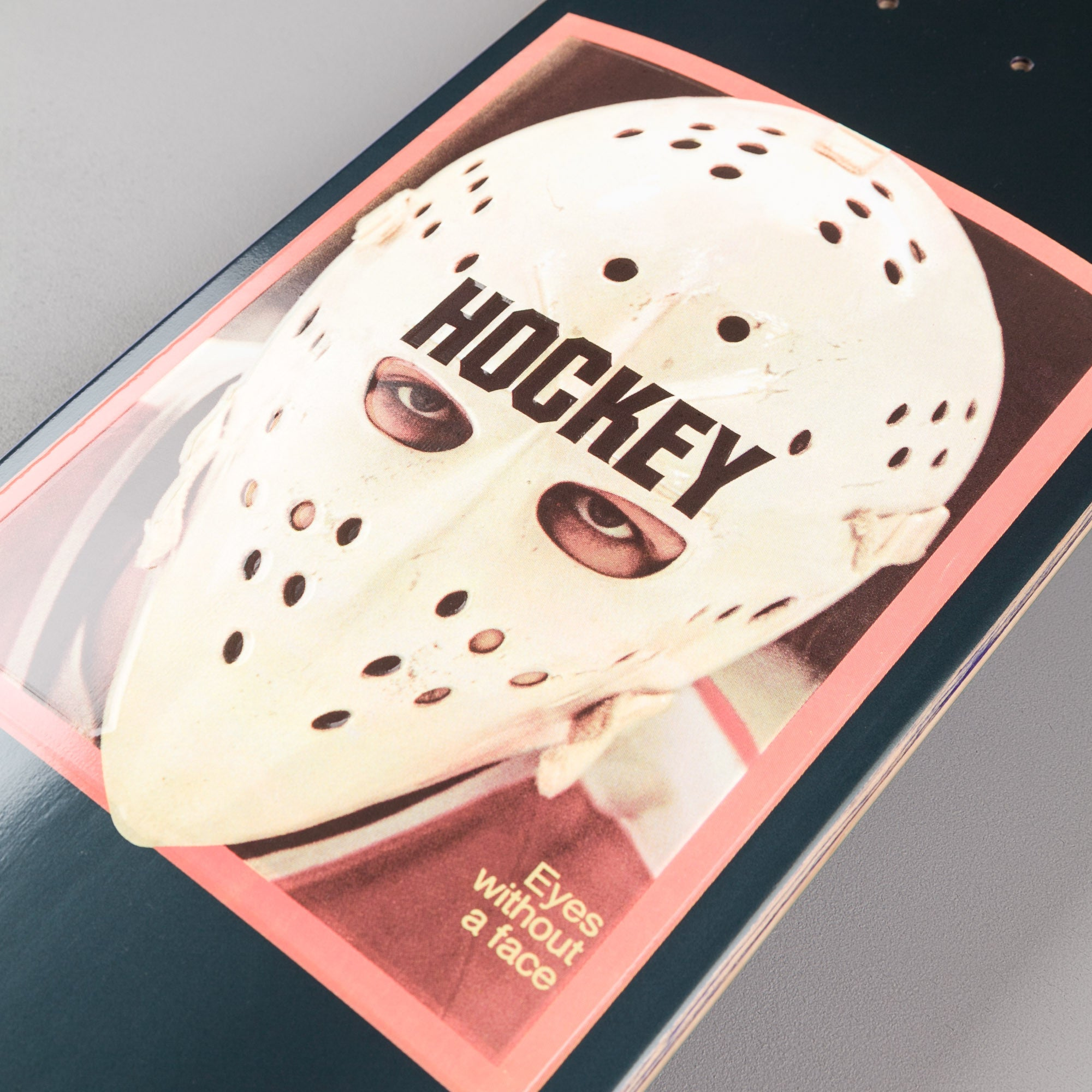 Hockey Eyes Without A Face Deck - Metallic Navy - 8.25""