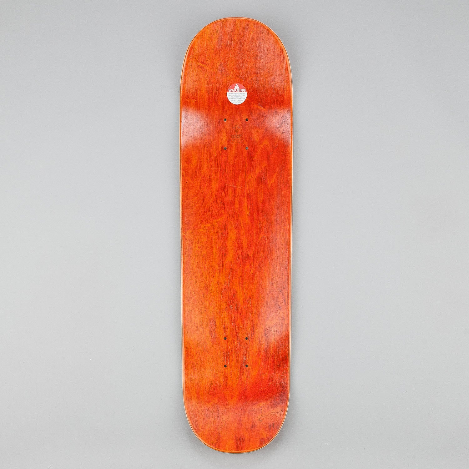 Hockey Eyes Without A Face Deck - Red 8.5""