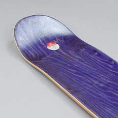 Hockey Eyes Without A Face Deck - Silver 8.0""