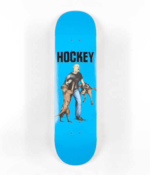 Hockey John Fitzgerald Dog Attack Deck - Blue - 8.5""