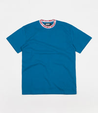 Hockey Knit Ringer T-Shirt - Navy / White