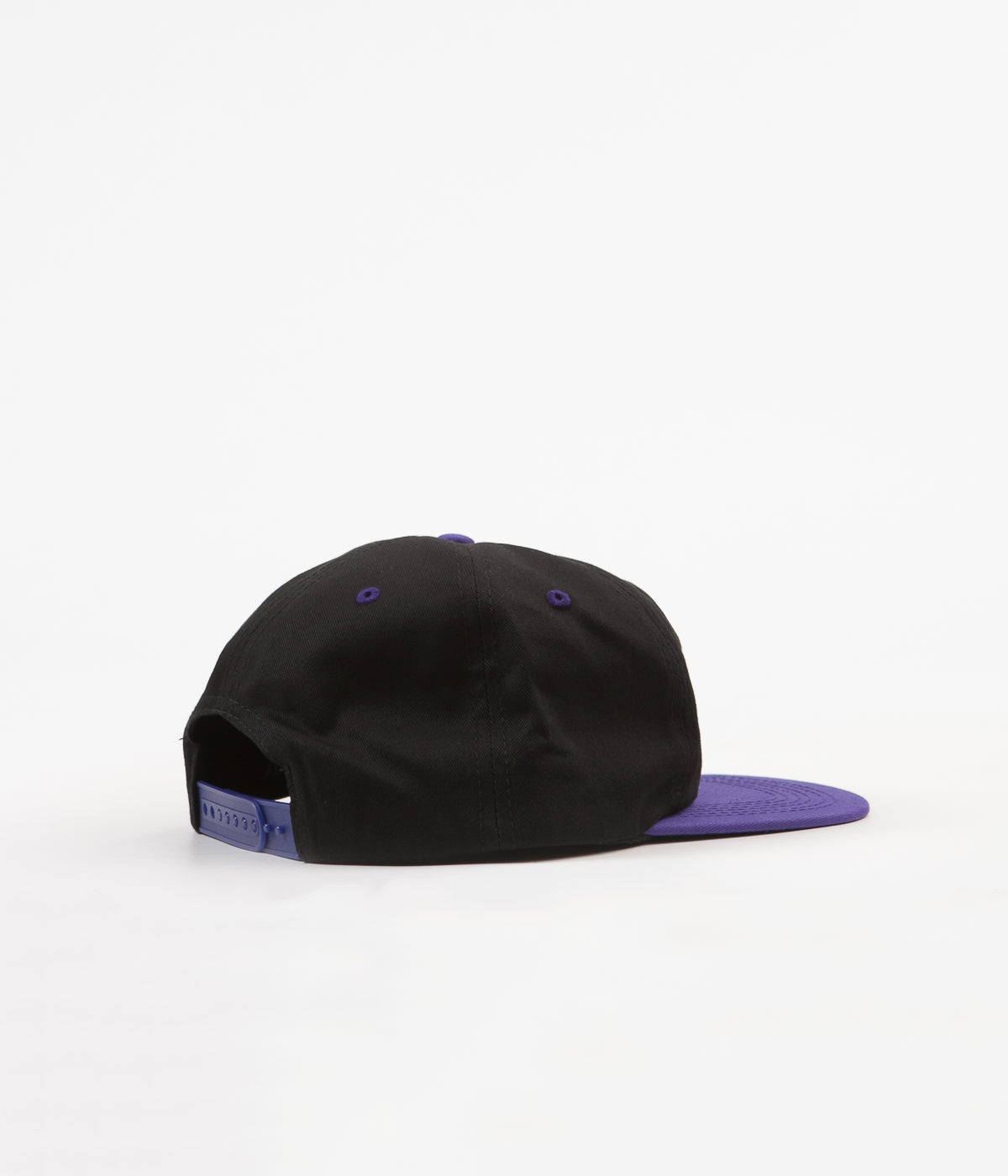 Hockey League 6 Panel Cap - Black / Purple