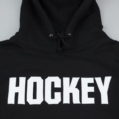 Hockey Logo Hooded Sweatshirt - Black