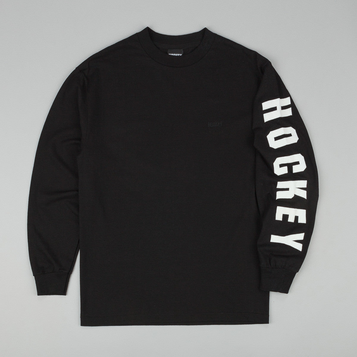 Hockey Logo Long Sleeve T-Shirt - Black