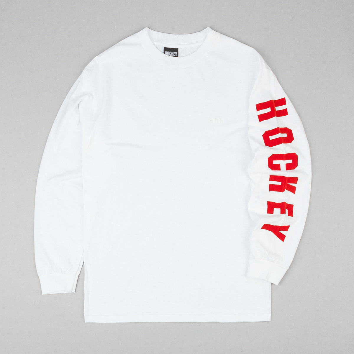 Hockey Logo Long Sleeve T-Shirt - White