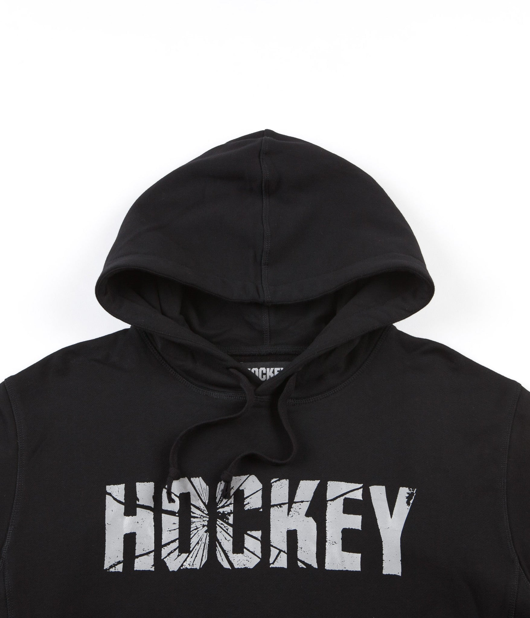 Hockey Shattered Hooded Sweatshirt - Black