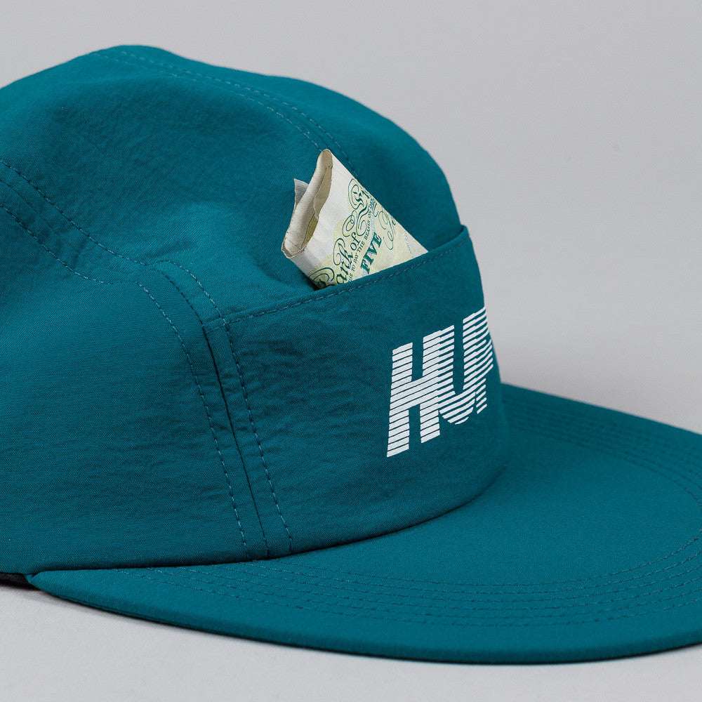 HUF 10k Long Brim Volley Cap Jade