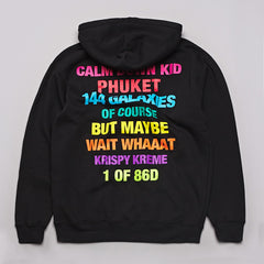 HUF 144 Galaxies Hooded Sweatshirt Black