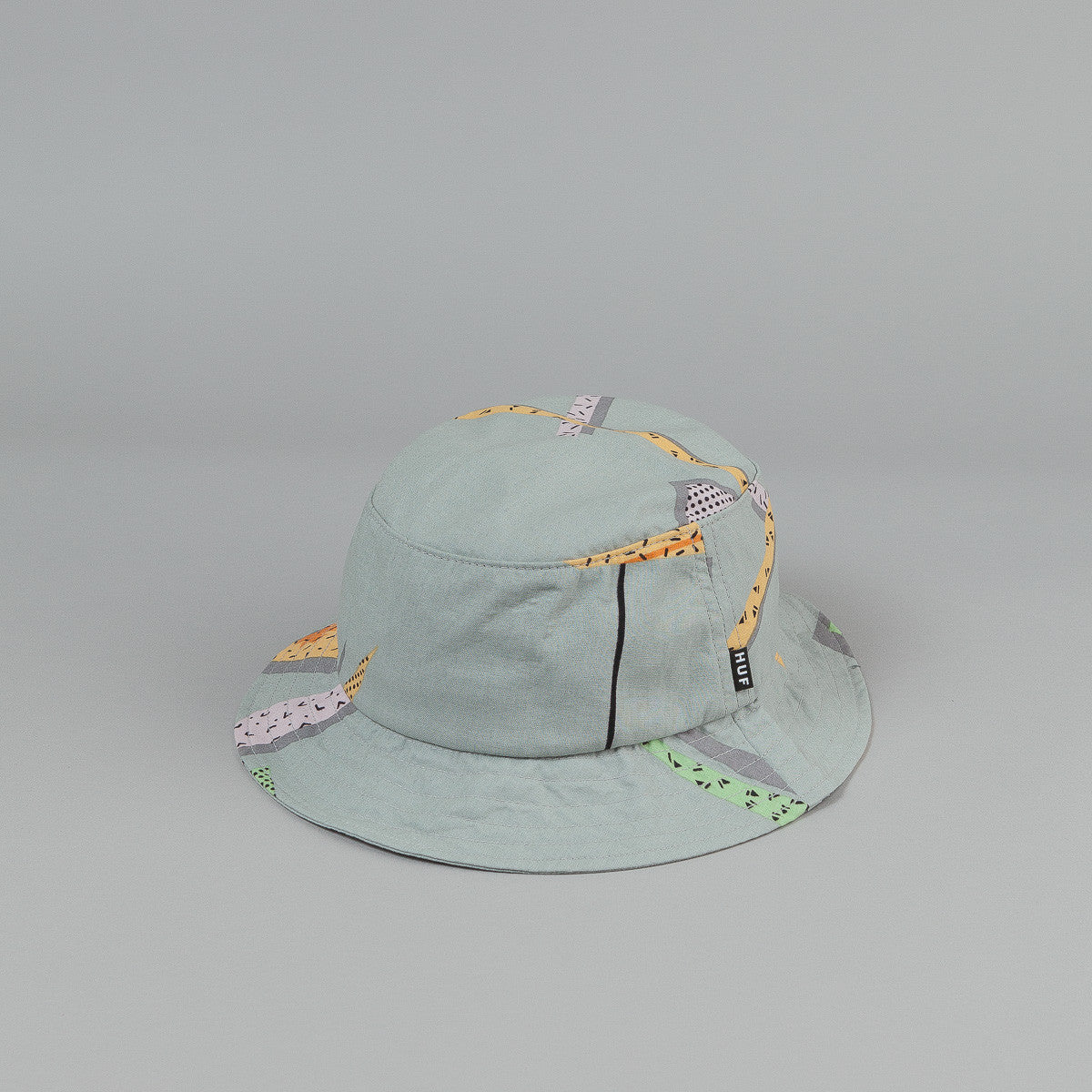 HUF 1986 Bucket Hat Cool Grey