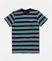 HUF 1993 Stripe Knit T-Shirt - Black