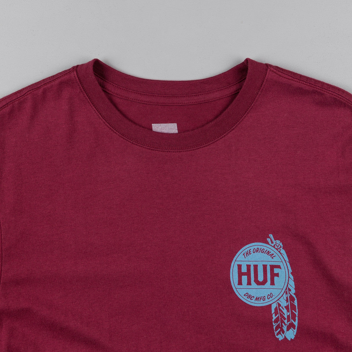 HUF Native T-Shirt - Burgundy