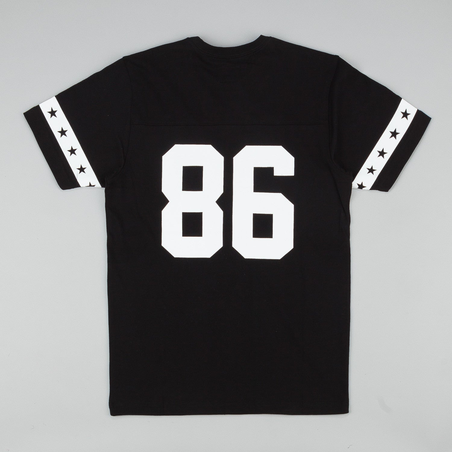 HUF 5 Star Football Jersey - Black