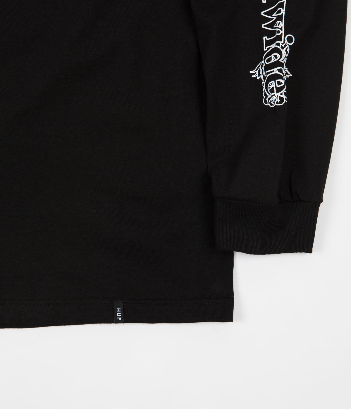 HUF Ambush TT Rose Long Sleeve T-Shirt - Black