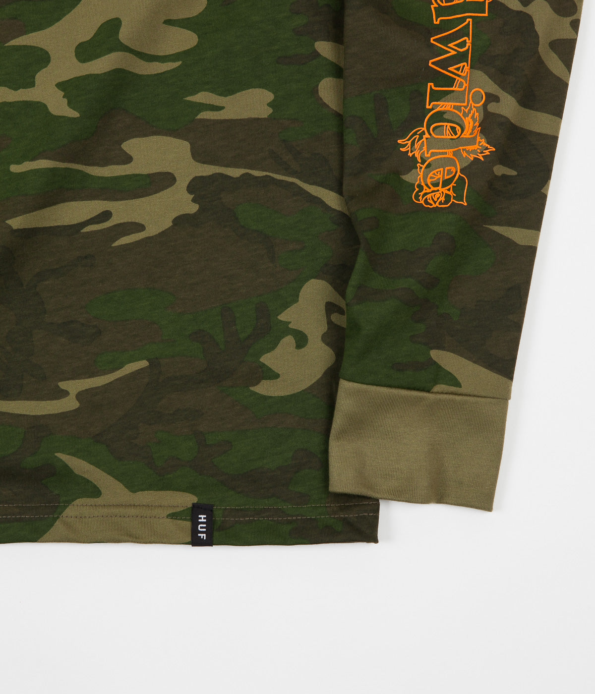 HUF Ambush TT Rose Long Sleeve T-Shirt - Camo