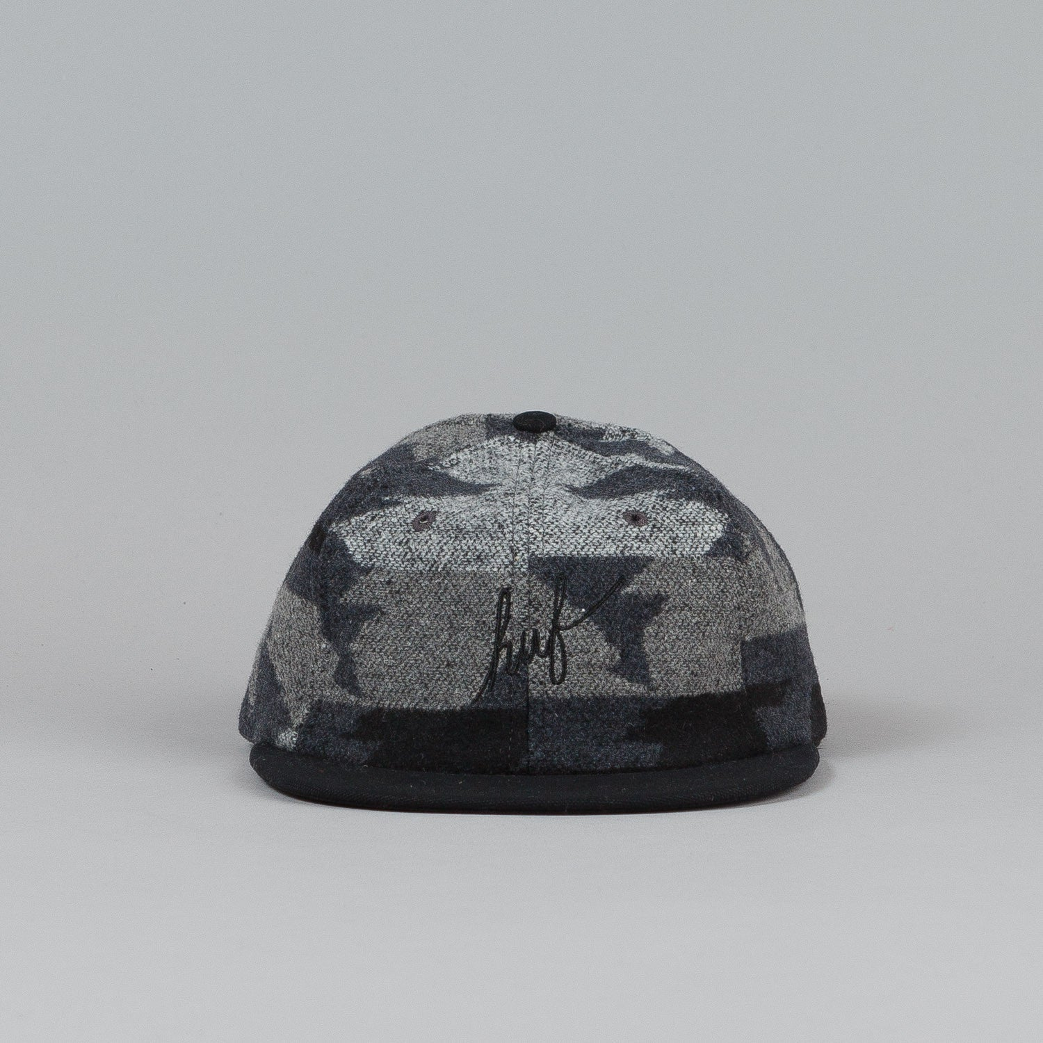 HUF Apache 6 Panel Cap Black