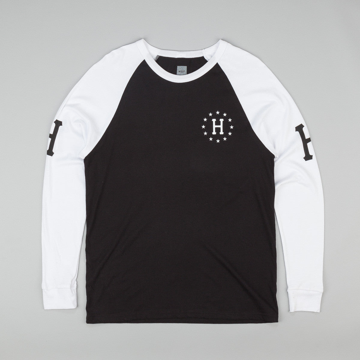 HUF Audible Long Sleeve Raglan Shirt