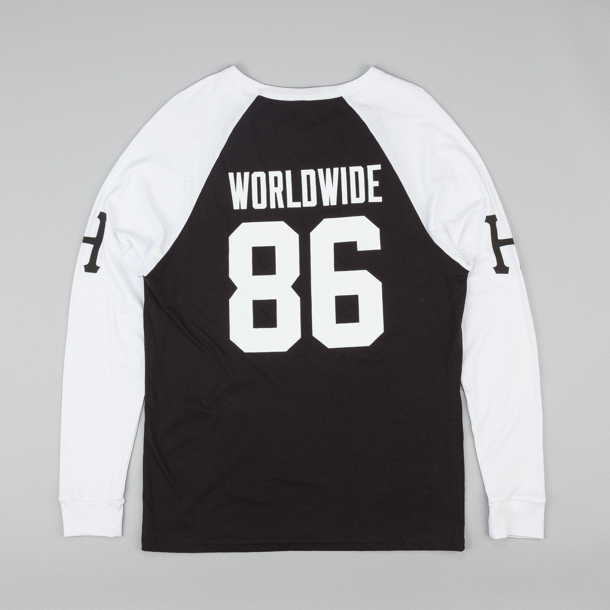 HUF Audible Long Sleeve Raglan Shirt - Black