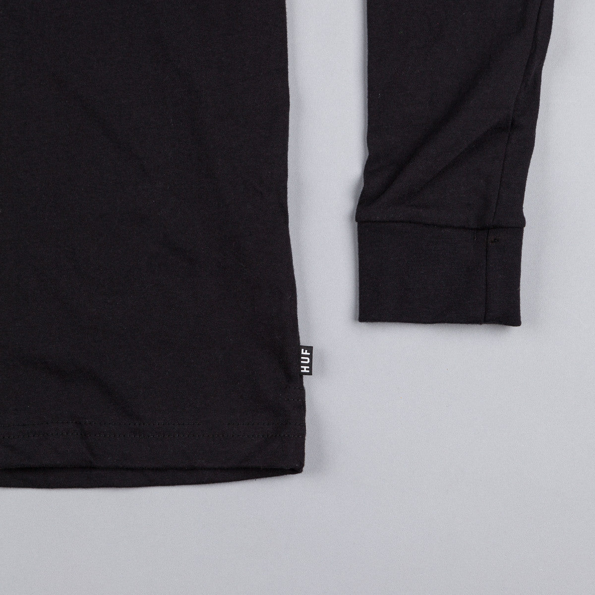 HUF Audible Long Sleeve T-Shirt - Black