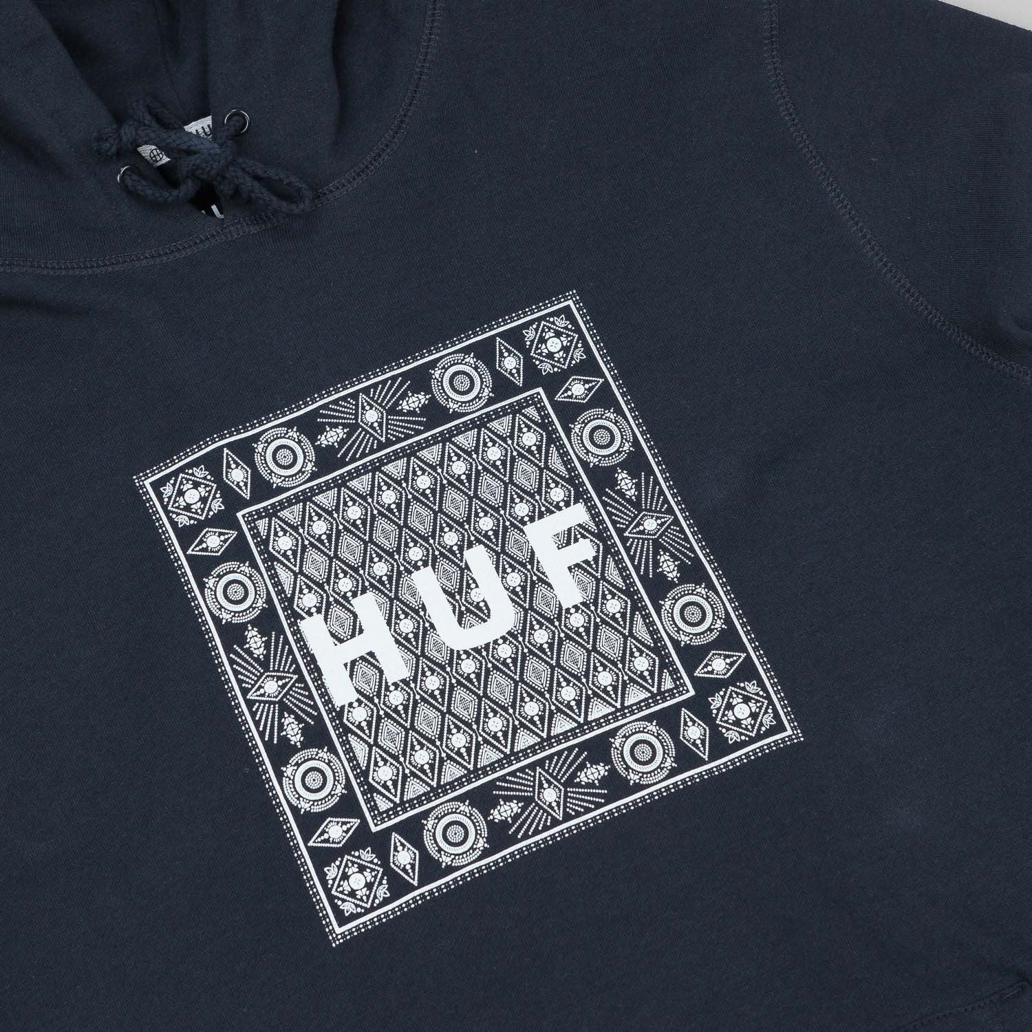 HUF Bandana Box Hooded Sweatshirt - Navy