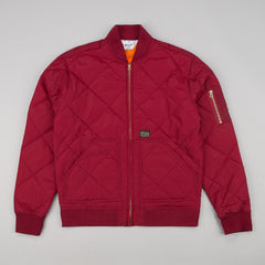Huf Baron Quilted Flight Jacket