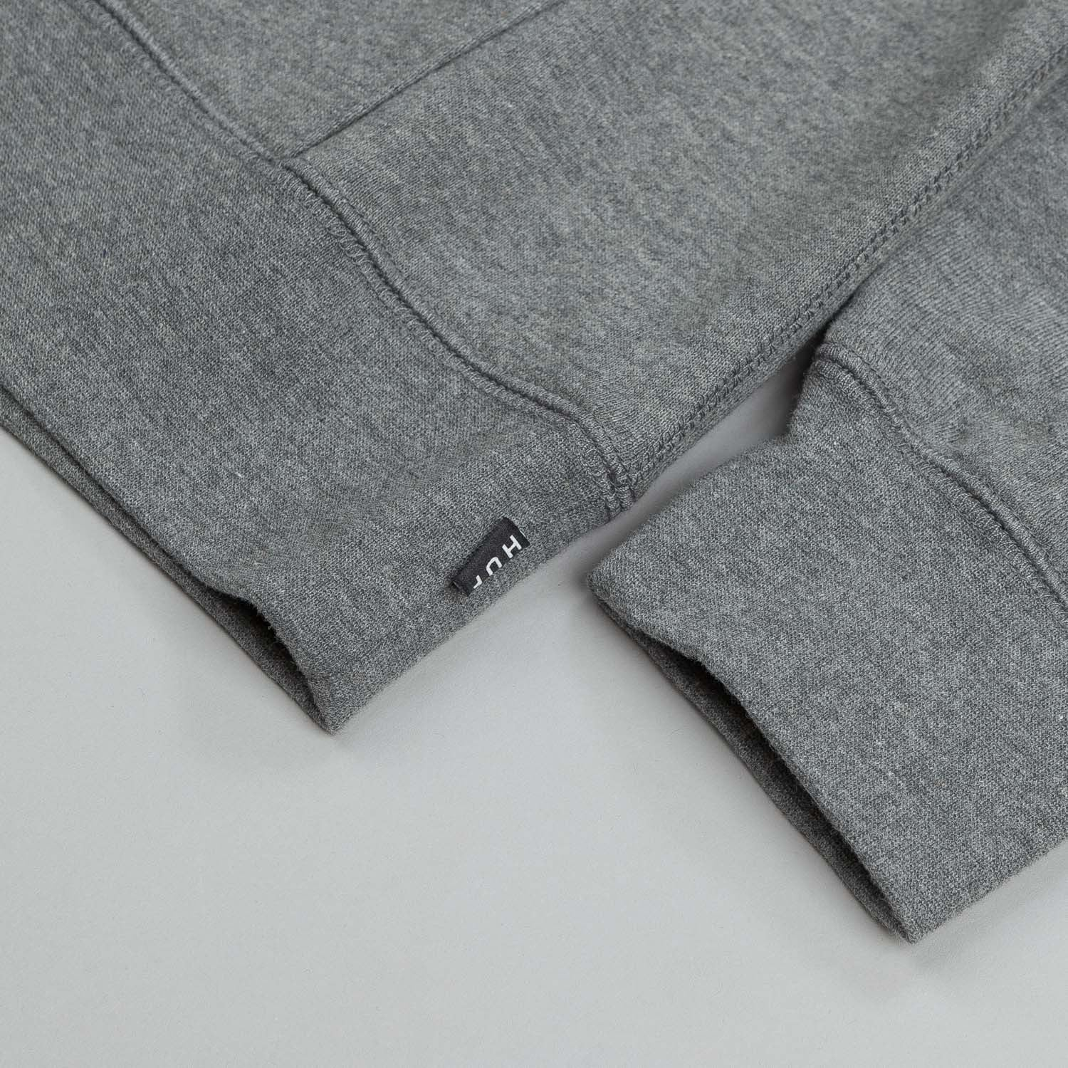 HUF Bear Logo Hooded Sweatshirt Grey Heather