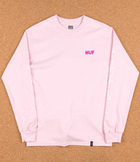 HUF Bear UV Long Sleeve T-Shirt - Pink