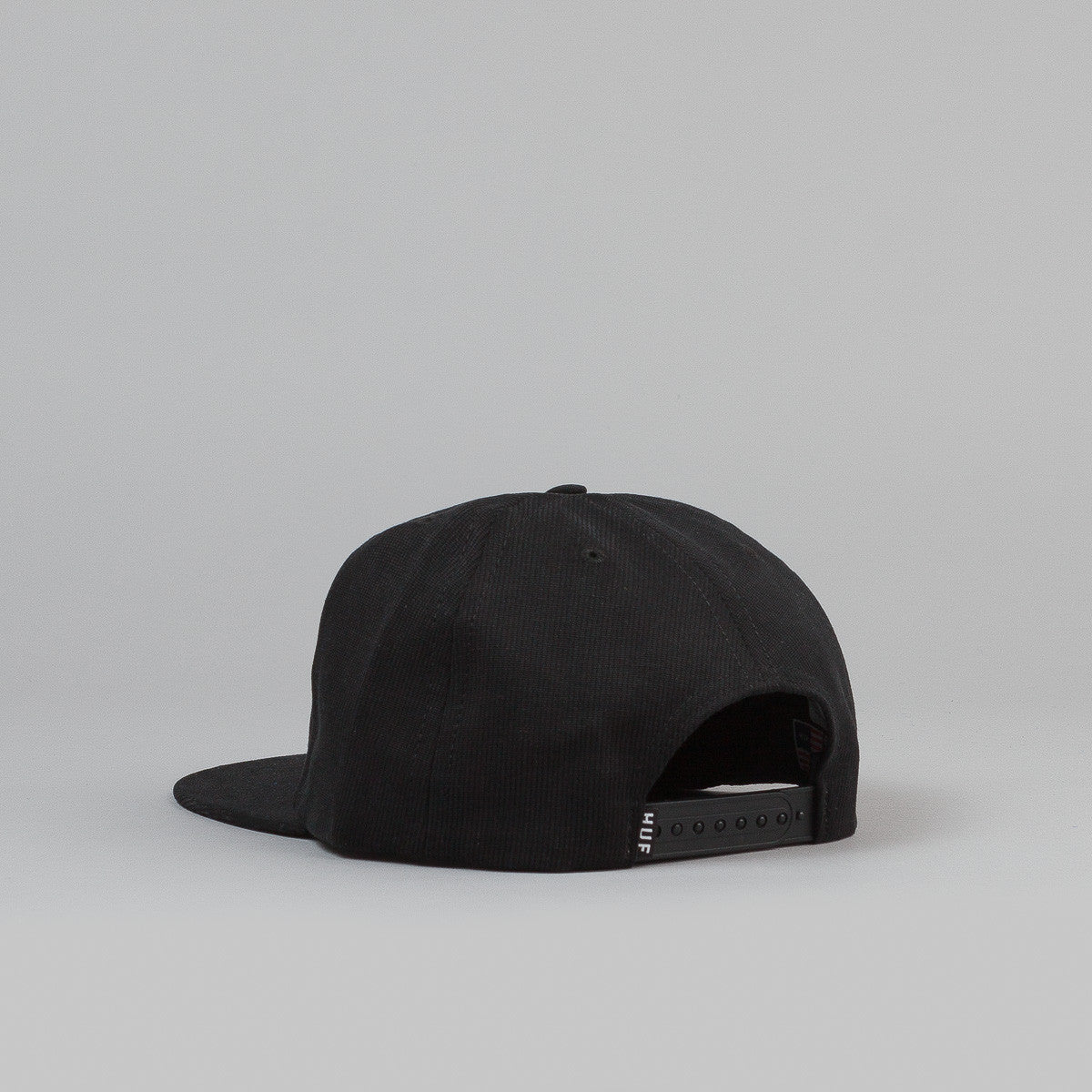 HUF Bedford Triple Triangle Snapback Cap - Black