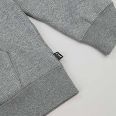 HUF Big Script Zip Hooded Sweatshirt - Grey Heather
