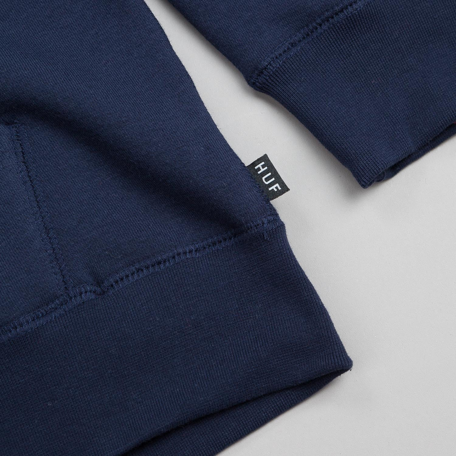 HUF Big Script Zip Hooded Sweatshirt - Navy