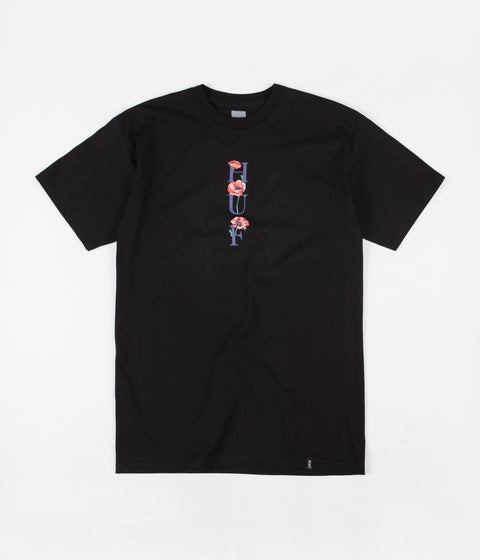 HUF Bloom T-Shirt - Black