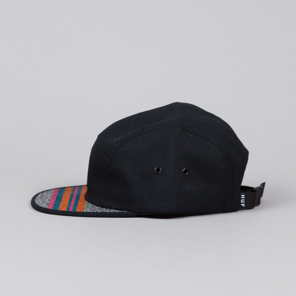 HUF Bourdon Volley Cap Black