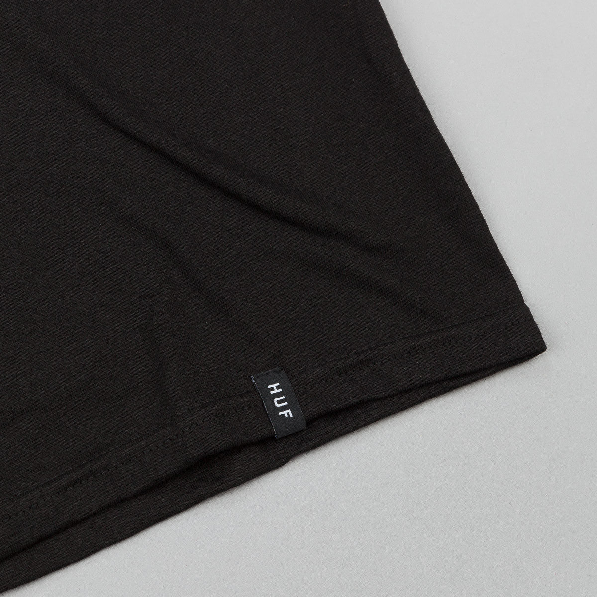 HUF Box Logo Fill T-Shirt - Black