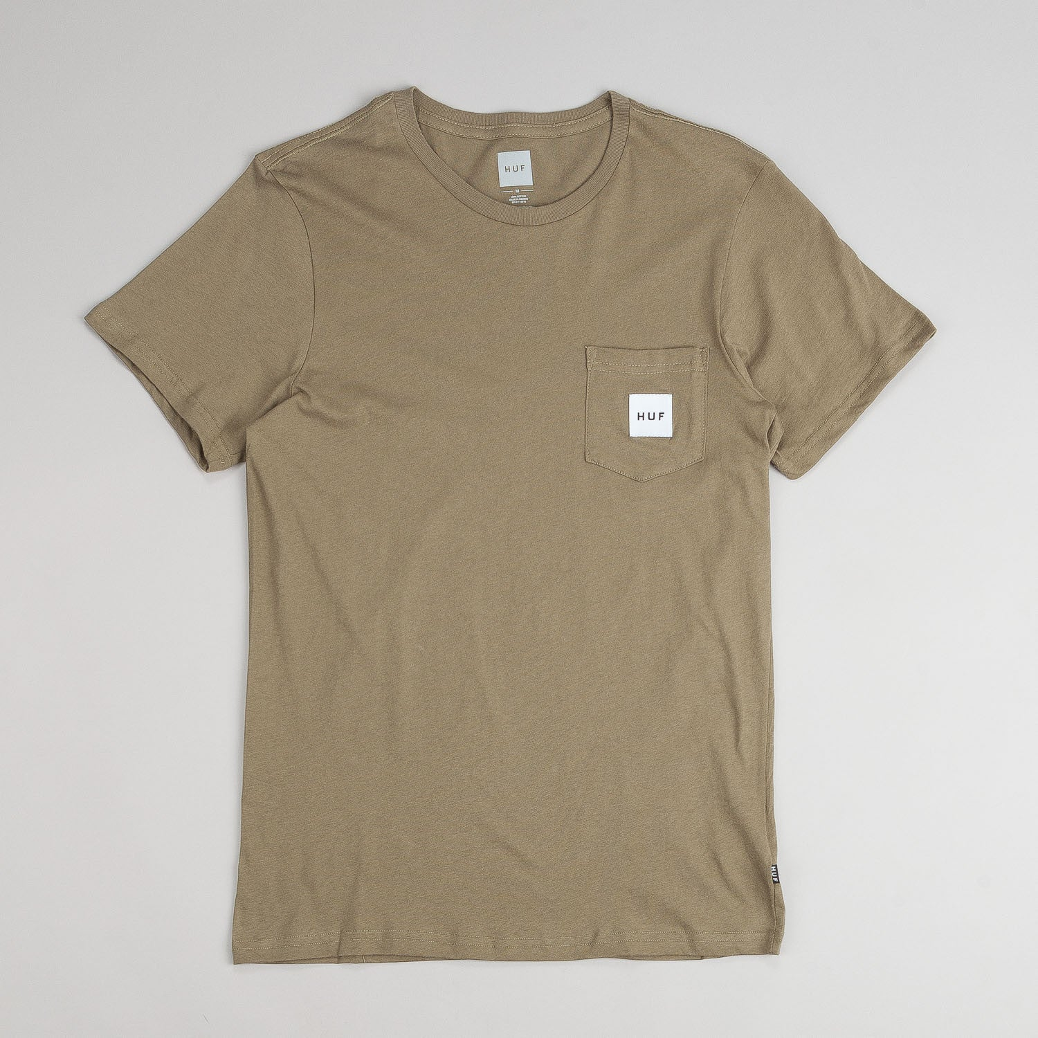 Huf Box Logo Pocket T-Shirt
