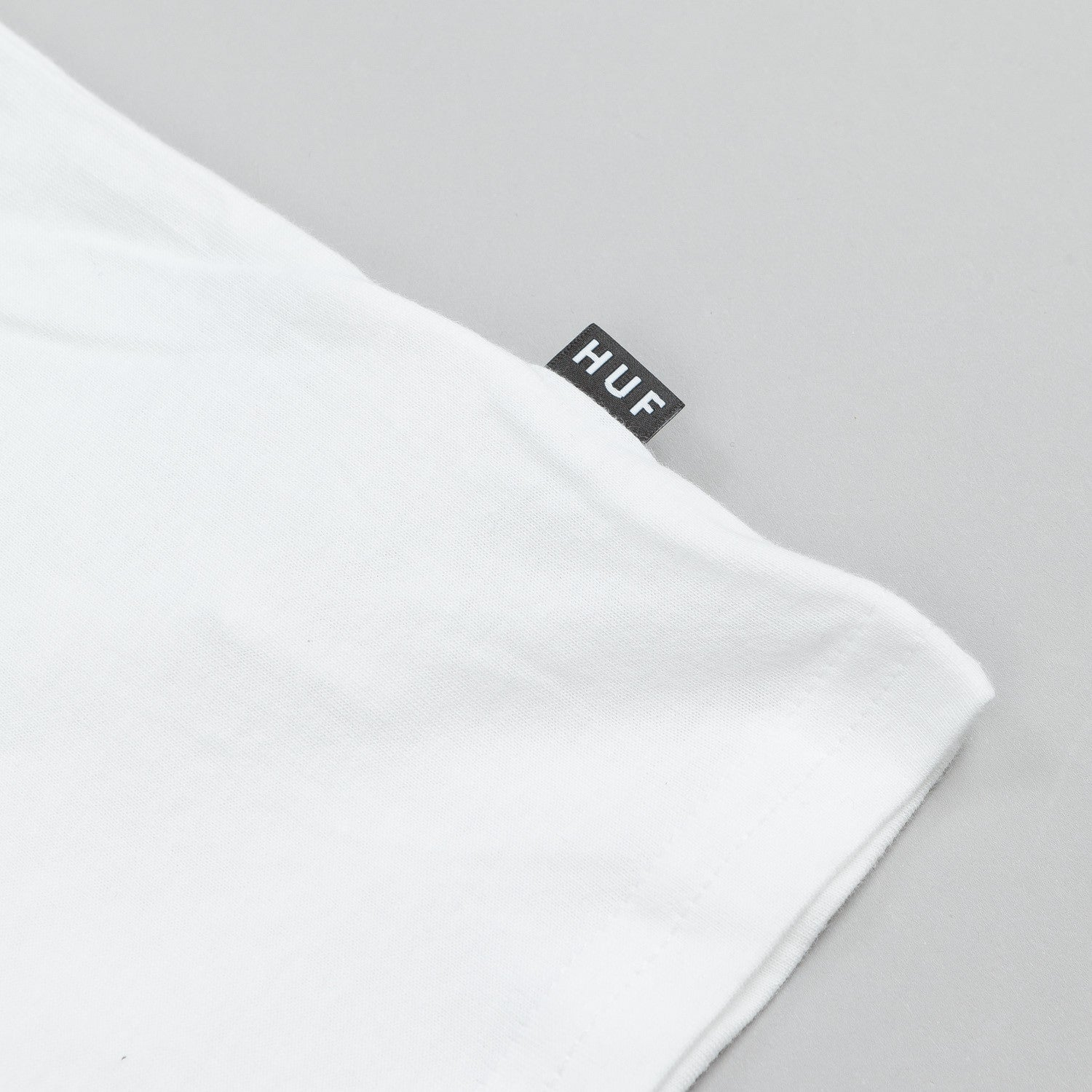 HUF Box Logo Pocket T Shirt White / Black