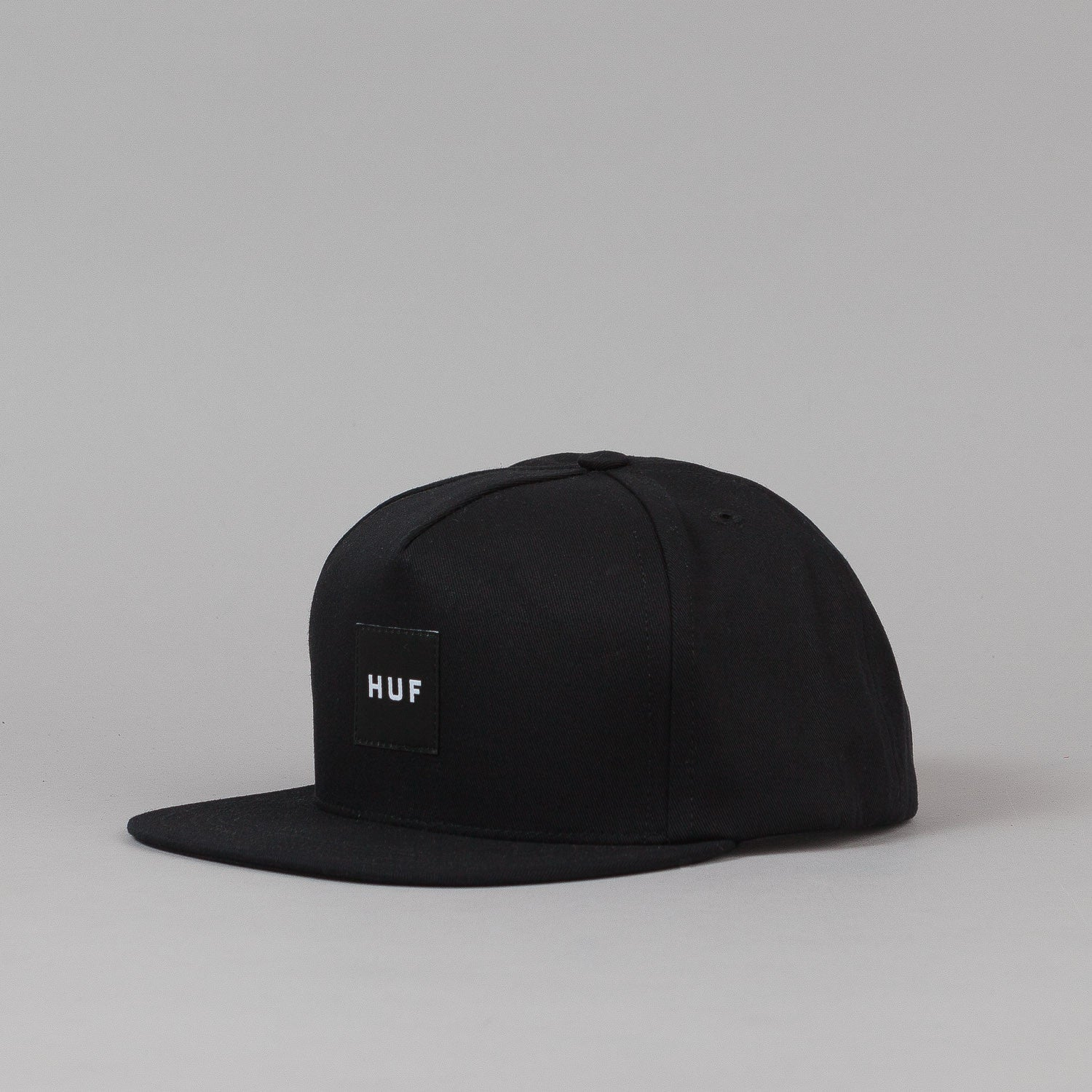 Huf Box Logo Snapback Black