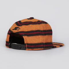 HUF Box Logo Starter Cap Amber Brown / Red