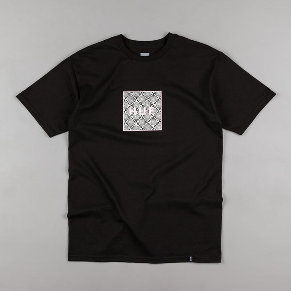 HUF Box Logo UV T-Shirt - Black