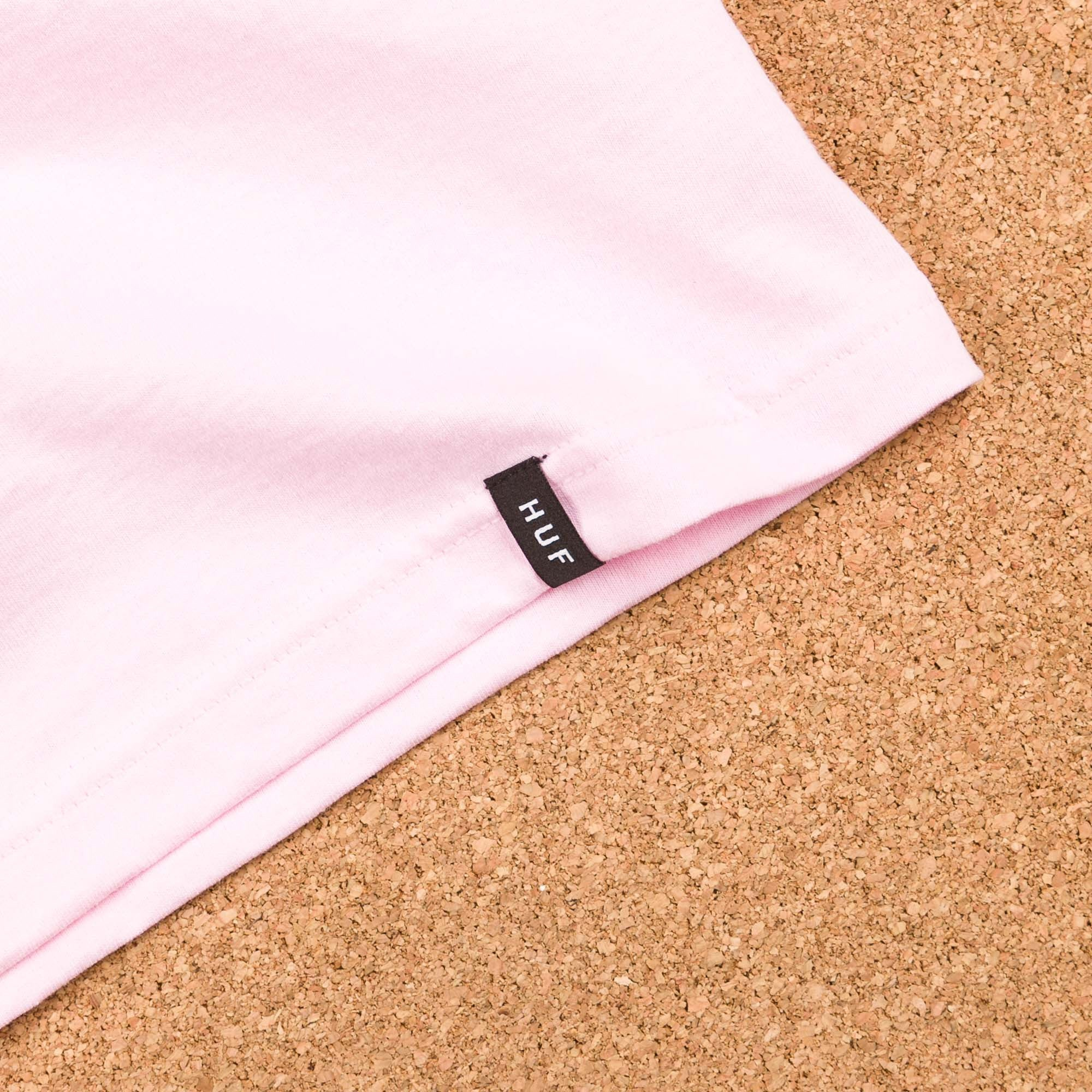 HUF Box Logo UV T-Shirt - Pink