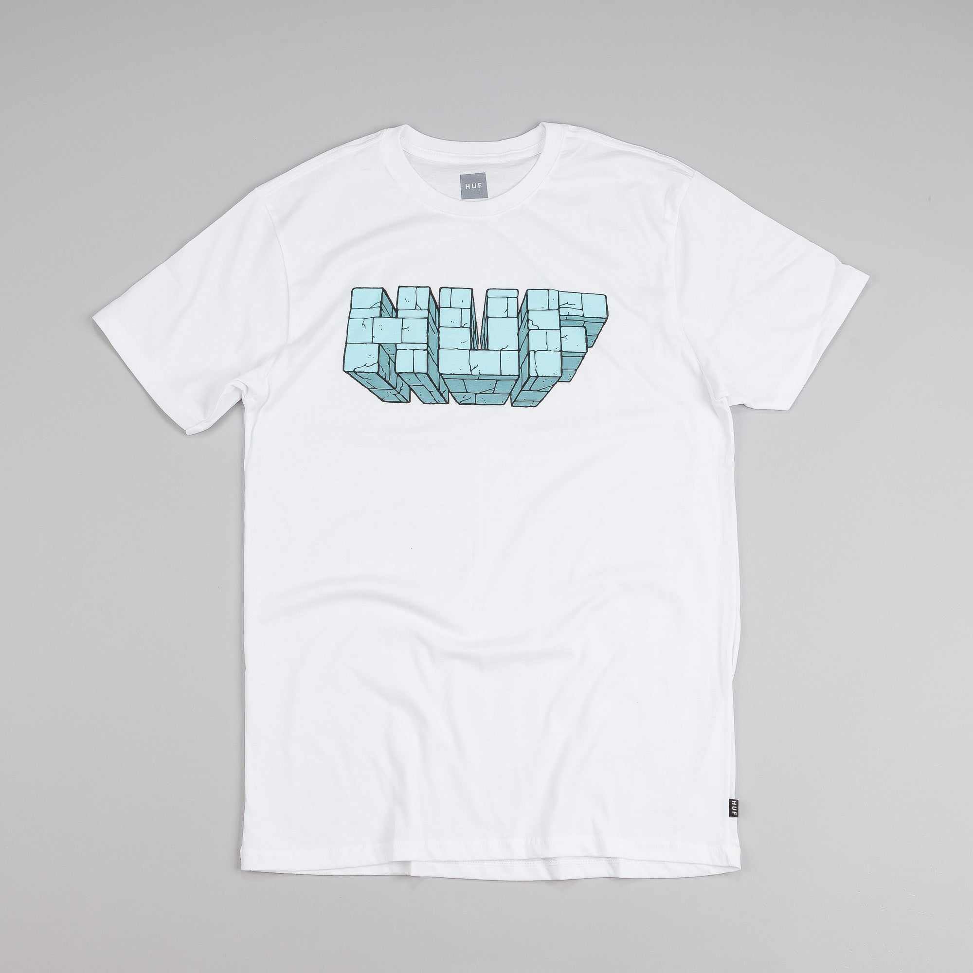 HUF Bricks T Shirt White