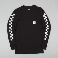 HUF Bunny Hop Long Sleeve Pocket T-Shirt - Black