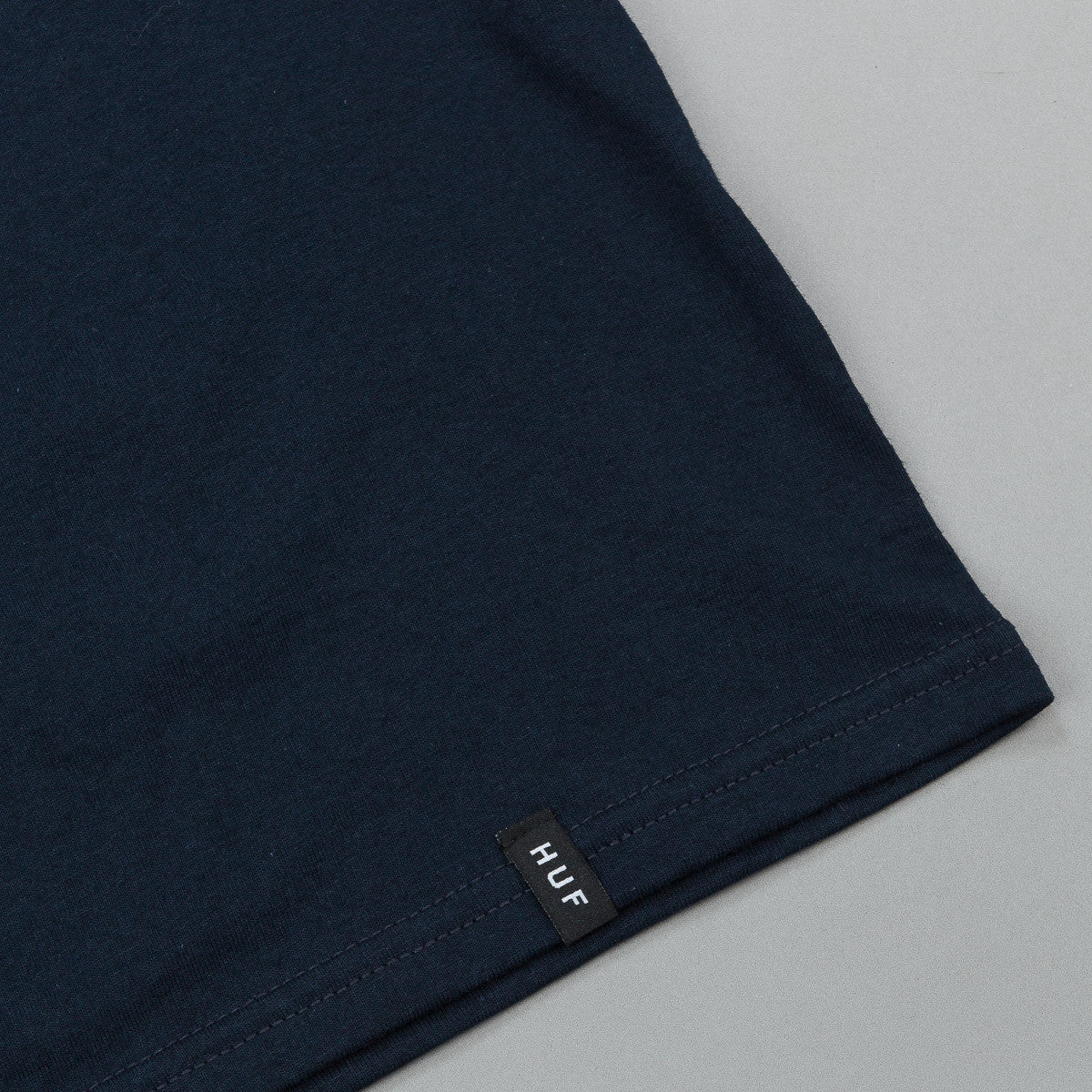 HUF Cabazon Box Logo T-Shirt - Navy