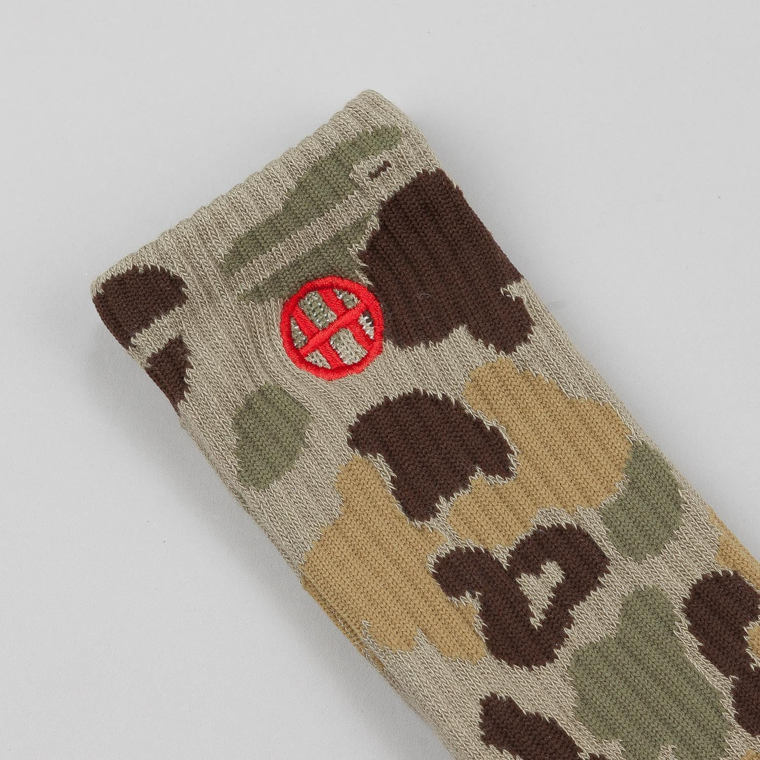 HUF Camo Crew Socks Duck