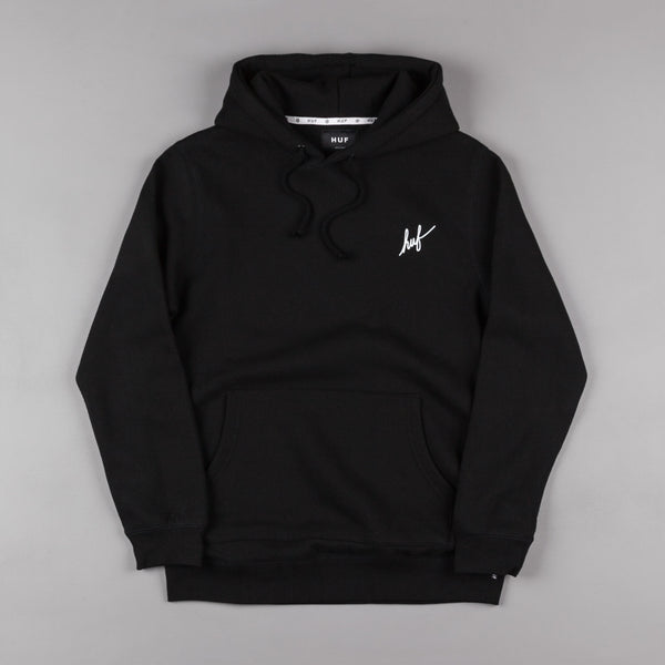 HUF Muted Military Classic H Hooded Sweatshirt - Black