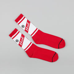 HUF Can Crew Socks Fall 15 - Red