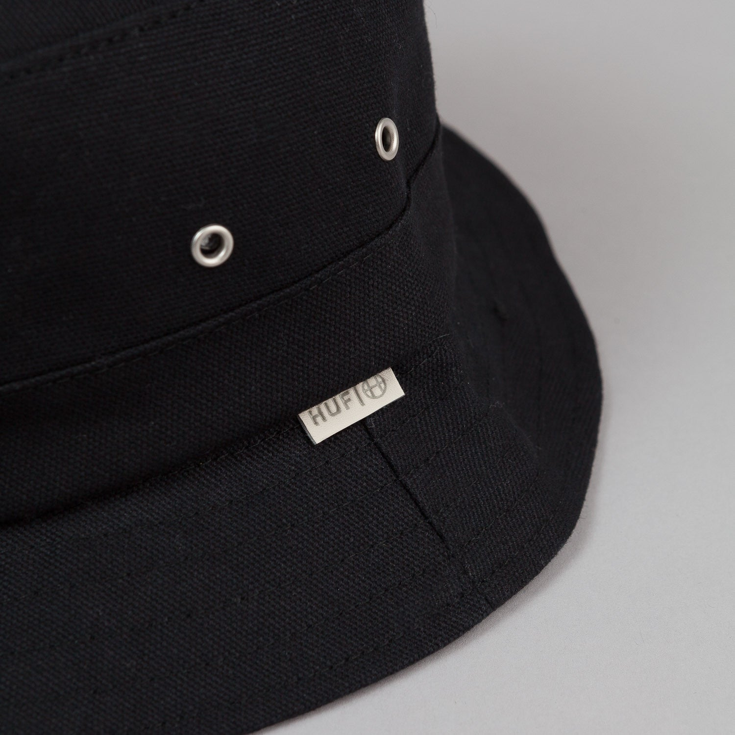 HUF Canvas Bucket Hat - Black