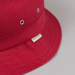 HUF Canvas Bucket Hat - Red